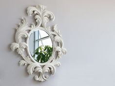 Wall-mounted framed mirror by Bizzotto | design Tiziano Bizzotto