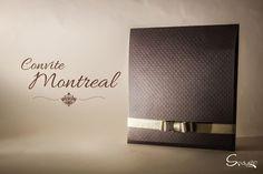 Convite de Casamento Montreal. Nova linha da Color Plus, Marrocos Treliça.  www.spaziomidia.com.br
