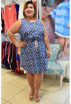 Plus Size It's My Passion Dress