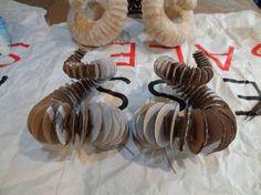 Ram's horns construction, DIY