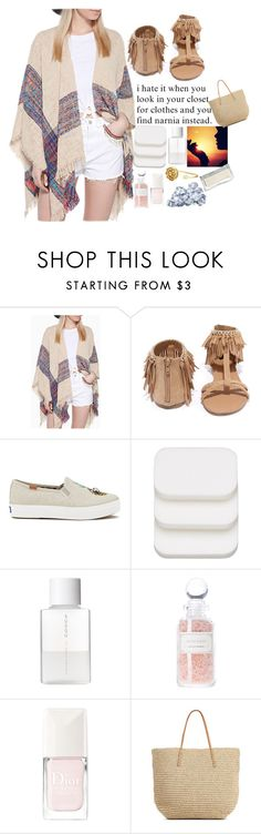 """Untitled #282"" by zozan123 ❤ liked on Polyvore featuring Vero Moda, Qupid, Keds, COVERGIRL, SUQQU, Katie, Mullein & Sparrow, Christian Dior and Target"