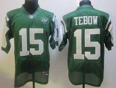 CHEAP NIKE NEW YORK JETS #15 TIM TEBOW GREEN JERSEY $21