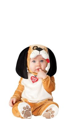 Baby Itty Bitty Beagle Puppy Costume - Party City
