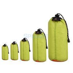 Ultra LIGHTWEIGHT Waterproof Drawstring Storage Stuff Sack Dry Bag Travel Sports