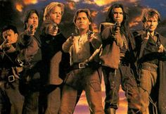 young guns II, the second best movie ever behind Young Guns 1.