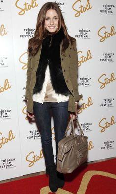 Olivia Palermo In A Military Style Blazer, 2010