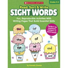 Read Sort & Write Sight Words