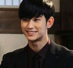 Kim Soo Hyun the only time he smiles brightly in Love from another star.
