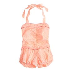 Girls' Nellystella® Daniella playsuit : in good company | J.Crew