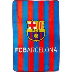 "Barcelona 'FCB Ball' Twin 62"" x 90"" Blanket"