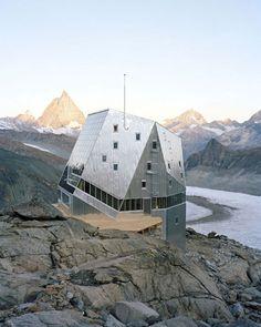 New Monte Rosa Hut SAC By Bearth & Deplazes Architekten AG Archello