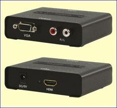 Sluit uw Blu-ray speler aan op een oude VGA-beamer! Met de KN-HDMICON26 kunt u een HDMI-signaal omzetten naar VGA-video en RCA-audio. Op deze manier kunt u bijvoorbeeld de HDMI-uitgang van een moderne Blu-ray speler aansluiten op de VGA- en RCA-ingangen van een oudere video-beamer, die niet over een HDMI-ingang beschikt. http://www.vego.nl/audio-video/kn-hdmicon26/kn-hdmicon26.htm