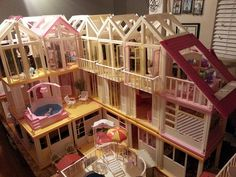 Dreamhouse Barbie, Barbie Doll House, Barbie Dream House, Barbie Dolls, Barbie Clothes, Vintage Barbie, Barbies Pics, Diy Barbie Furniture, Kids Bedroom Designs