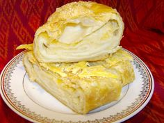 Rulada cu branza sarata Romanian Food, Deserts, Ice Cream, Cheese, Puddings, Breakfast, Ethnic Recipes, Kitchens, No Churn Ice Cream