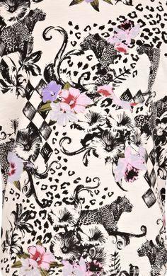 animal floral print