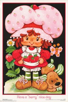 Strawberry Shortcake is timeless. My first birthday party and the first birthday parties for both of my daughters were Strawberry Shortcake themed parties. Strawberry Shortcake Cartoon, Vintage Cartoon, Vintage Toys, Vintage Art, Childhood Toys, Childhood Memories, Brother Innovis, Cartoon Photo, 80s Kids