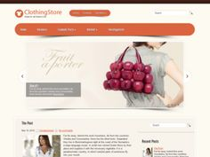 Clothing Store is an amazing WordPress theme. It includes easy to use administrative panel and is full of nice useful features. Theme is absolutely free.
