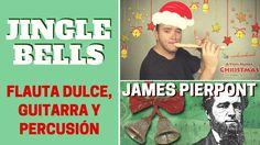 """Cómo tocar """"Jingle Bells"""" con flauta dulce, guitarra y pequeña percusión"""