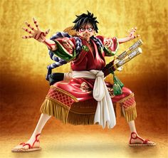 One Piece Luffy POP Kabuki