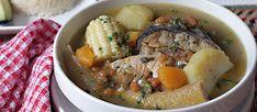 Sancocho de Pescado - AntojandoAndo Pot Roast, Ramen, Potato Salad, Mashed Potatoes, Seafood, Healthy Eating, Cooking Recipes, Yummy Food, Fish