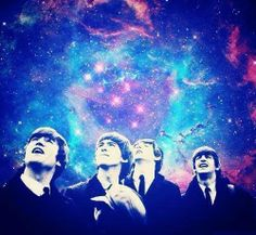 """""""Words are flowing out like endless rain into a paper cup. They slinther windly as they slip away acros the universe..."""" #thebeatles #acrosstheuniverse #song #loveit"""