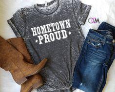 Kane Brown Shirt, Kane Brown Concert Shirt, HomeTown Proud, Home Town Proud Shirt, Country, Country Music Shirt,  Concert Shirt by 1OneCraftyMomma on Etsy Country Girl Shirts, Country Music Shirts, Country Outfits, Country Girls, Sassy Shirts, Cool T Shirts, Cute Teen Outfits, Outfits For Teens, Jason Aldean Concert
