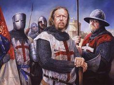 "Richard I ""The Lionheart"" 3rd Crusade by Chris Collingwood"