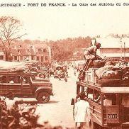 Gare des autobus - La gare des autobus du sud de la Martinique à Fort de France.