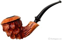 Beautiful.  I like my Nording pipe.  This one is just wonderful. Nording Carved Freehand Pipes at Smoking Pipes .com
