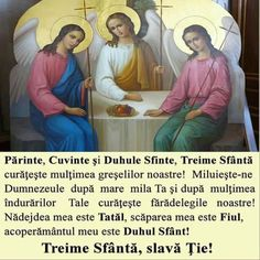 Sfanta Treime🌹🌹🌹 Orthodox Icons, Science And Nature, Blessed, Baseball Cards, Angeles, Frame, Saints, Dios, Picture Frame