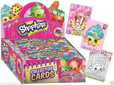shopkins trading cards - Google Search