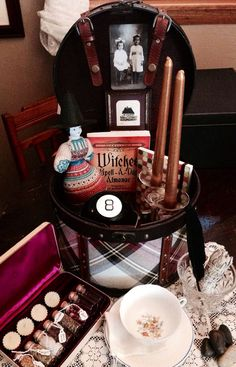 Annabelle's Witch's Pantry Herbal Altar by ThreeMoonJunction, $115.00