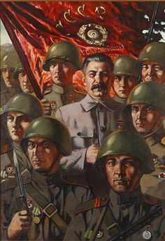 The first fundamental distinctive feature of our Red Army is that it is the army of the liberated workers and peasants, it is the army of the October Revolution, the army of the dictatorship of the proletariat. Ww2 Propaganda Posters, Communist Propaganda, Political Posters, Joseph Stalin, Socialist Realism, Soviet Army, Red Army, Military Art, World War Two