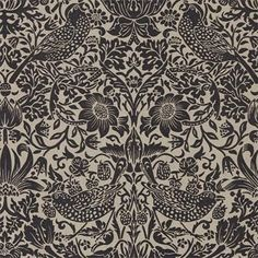 Pure Strawberry Thief (WM174-02) wallpaper by William Morris®