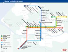 mapa metro rotterdam - Pesquisa Google