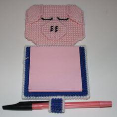 1617 Pig Notepad Holder by CraftsbyRandC on Etsy, $5.95