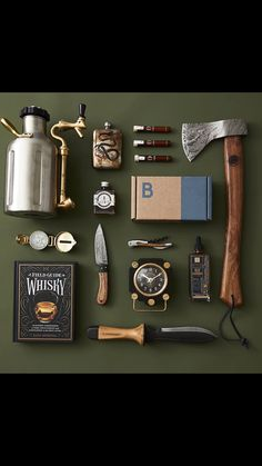 Camping Must Haves Discover Bespoke Post Limited Time Deal Off Your First Box! Save off your first box from Bespoke Post with our limited time deal! Survival Tools, Camping Survival, Survival Equipment, Outdoor Survival, Bushcraft Kit, Bushcraft Camping, Camping Must Haves, Cool Gadgets To Buy, Cool Inventions