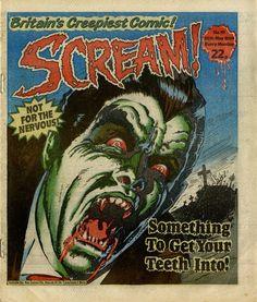 comic from Creepy Comics, Horror Comics, Horror Books, Horror Art, Comic Book Covers, Comic Book Heroes, Comic Books, Ec Comics, Dark Comics