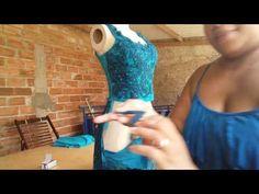 Como aplicar renda e costurar no tule ilusione? - YouTube