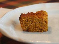 Pumpkin Cornbread - Gluten Free Recipe