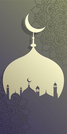 Islamic Wallpaper Iphone, Quran Wallpaper, Watercolor Wallpaper Iphone, Nature Wallpaper, Wallpaper Ramadhan, Eid Card Designs, Imam Hussain Wallpapers, Ramadan Poster, Architecture Wallpaper