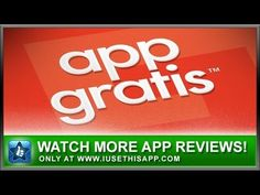 AppGratis iPhone App - Best iPhone App - App Reviews #iphone #apps #appreviews #IUT