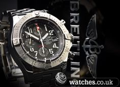 Breitling Avenger Skyland Watch - Ref A13380. Big 45mm in a grey dial. 2007 Model.  We Buy and Sell Breitling Watches. Contact Us www.watches.co.uk
