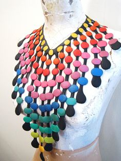 insane rubber necklace from 1988 - love.
