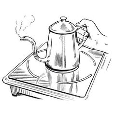 Make barista style pour over coffee at home