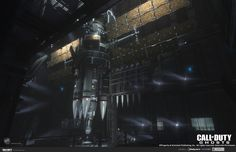 The LOKI space station and factory, from Infinity Ward's Call of Duty: Ghosts.