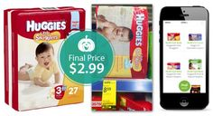 Huggies Diapers, Only $2.99 at Walgreens!