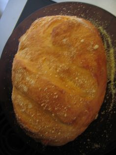 Fresh from the oven - double cheese bread.....YUM!