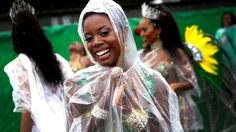 It may have been raining, but this did not deter thousands of people from attending Europe's biggest street festival in 2014