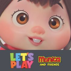 Let´s Play  - Monica and Friends, Faunea Studio on ArtStation at https://www.artstation.com/artwork/XQDKL